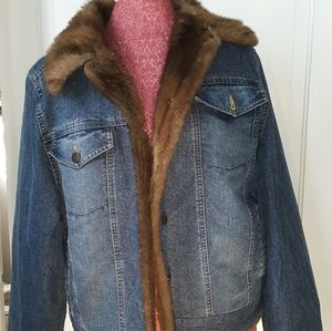 - Demium faux fur jacket